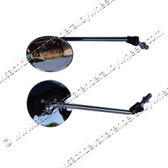 Rear & Side View Mirrors for Motorcycles
